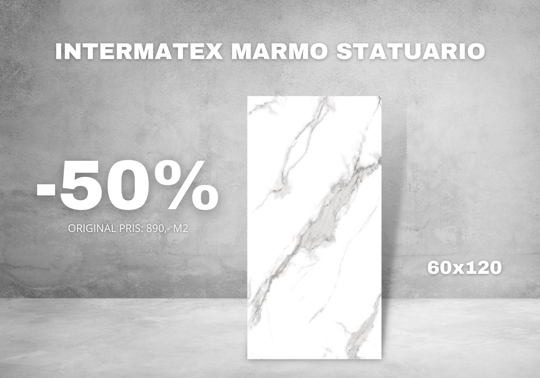 Kampanje - Intermatex Marmo Statuario
